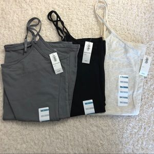Lot of 3 Basic Old Navy Camisoles